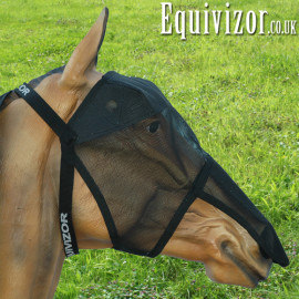 Equivizor Fly Mask (with nose flap) - XLarge